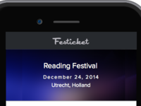 Early Concept Festicket Apps