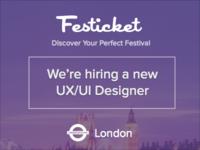Join Festicket - Design