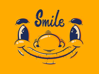 Smile face art illustrator drawing illustration vector smile