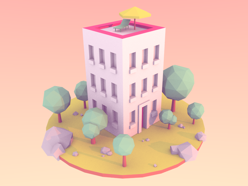 Small world by Charlie Le Maignan on Dribbble