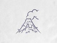 Textures experimentations (Volcano)