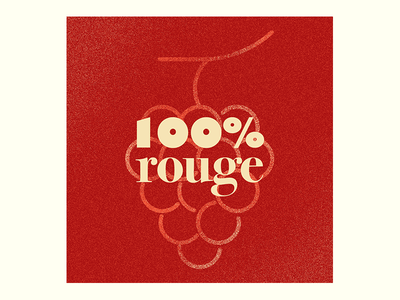 French wine textures gradient typography rhône french fruit gill bodoni 100 grapes red wine