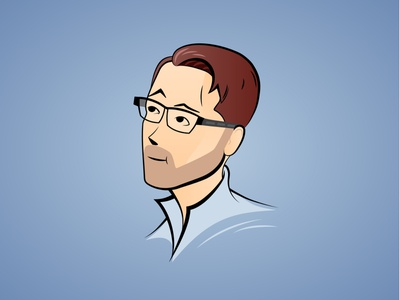 Avatar illustration graphic design 2d
