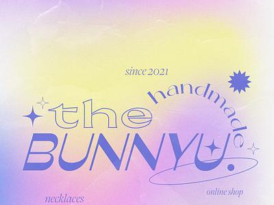 Online Shop Avatar name mesh typography design branding graphic design