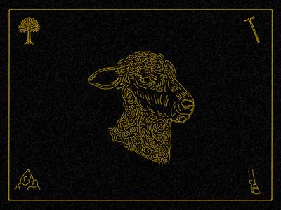 Lamb Illustration