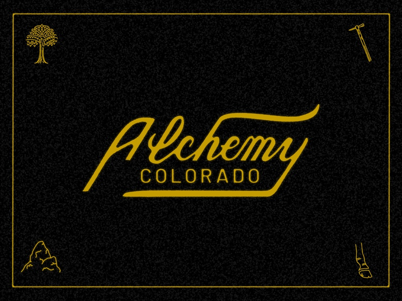 Alchemy Script occult esoteric foodtruck food truck colorado sigils sigil symbols symbol lettering branding scripts vintage hand lettering handlettering alchemy