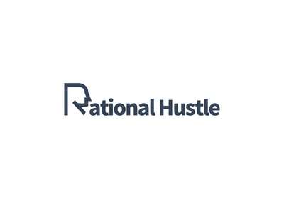 Rational Hustle finance hustle thinking profile head efficient safe vision strategy tactics planning logic thought rational