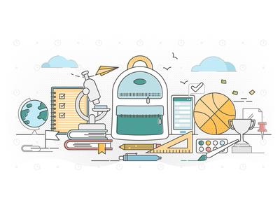 School education concept