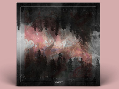 ODYSSÉE abstract album gradiant album cover design album cover album artwork album art illustration design color kev andré perrin