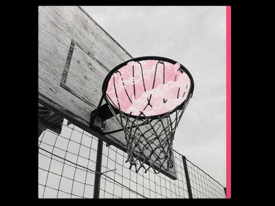 CMXCVIII hiphop music lofi basketball pink calm light cloud abstract gradiant album album cover design album cover album artwork album art illustration design lachute color cmxcviii
