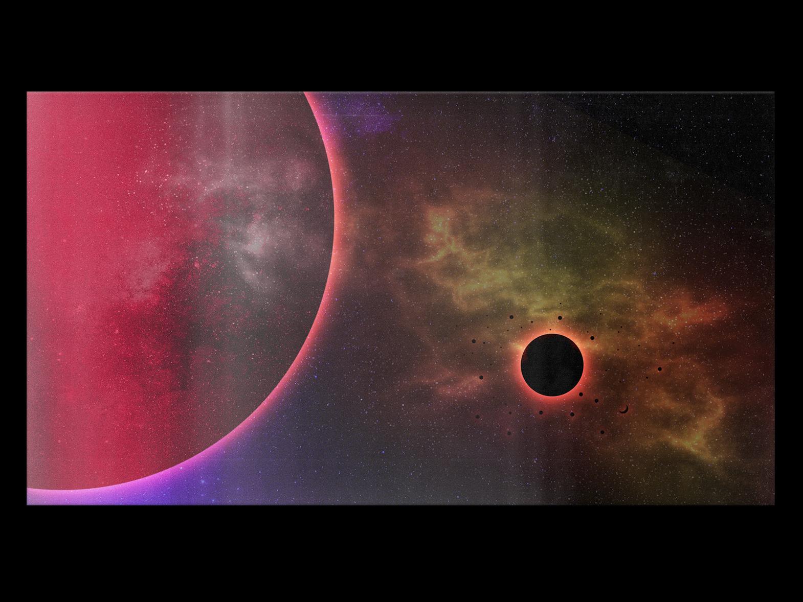 αστρικό ουρανό photoshop black hole stars calm neon space light gradiant album cover design album cover album artwork album art album color illustration design lachute