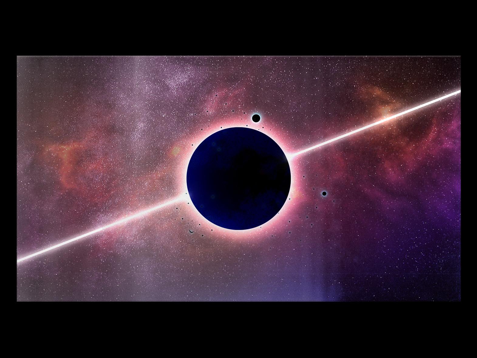 αστρικό ουρανό ΙΙ calm photoshop stars black neon space light geometry gradiant abstract album cover design album cover album artwork album art album color illustration design lachute