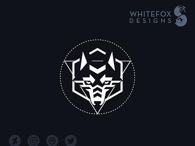 Cliophate nature wild canine wolf identity design graphic design branding design vector logo