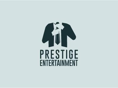 prestige entertainment logo by eduardo zaldivar dribbble dribbble