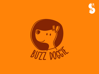 Buzz Doggie Logo design logo funny cute dog