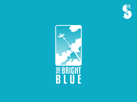 The Bright Blue Logo