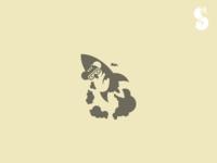 Daredevil Koala Logo
