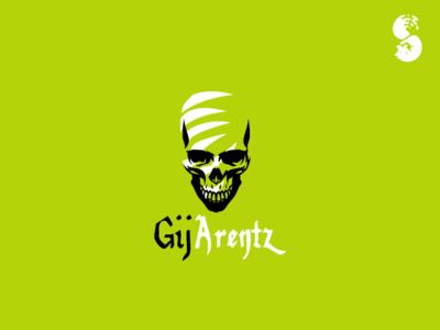 Gij Arentz Logo logo scar marks claw cool skull
