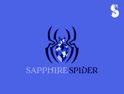 sapphire spider Logo