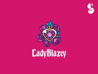 LadyBlazey Logo