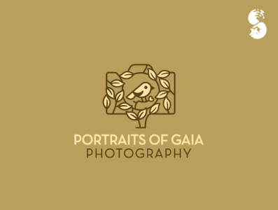 Portraits of Gaia Photography Logo