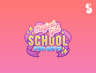 Magical Girl School for Boys Logo