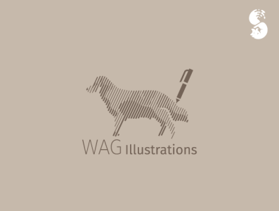WAG Illustrations Logo