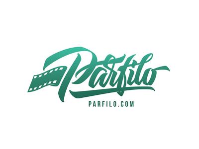 Parfilo inspiration brushtype font handlettering brush logo type calligraphy lettering logodesign