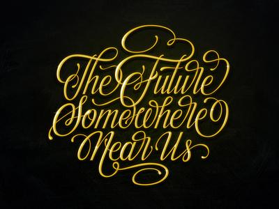 Future typography inspiration brushtype font handlettering brush logo type calligraphy lettering logodesign