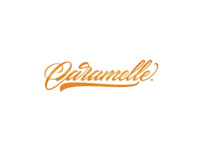 Caramelle typography inspiration brushtype font handlettering brush logo type calligraphy lettering logodesign