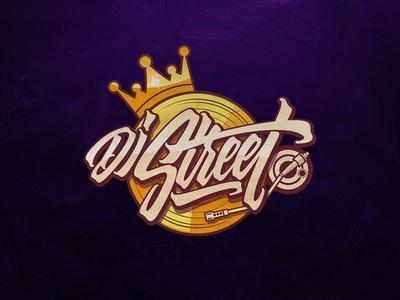 Dj Street typography inspiration brushtype font handlettering brush logo type calligraphy lettering logodesign