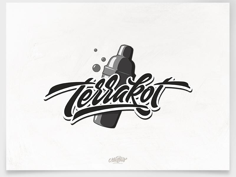 Terrakot brush brushtype typography type logodesign logo lettering inspiration handlettering font calligraphy