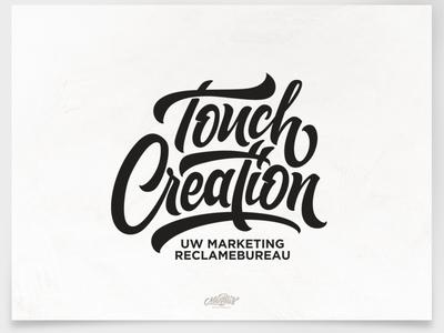 Touch Creation brush brushtype calligraphy font handlettering inspiration lettering logo logodesign type typography