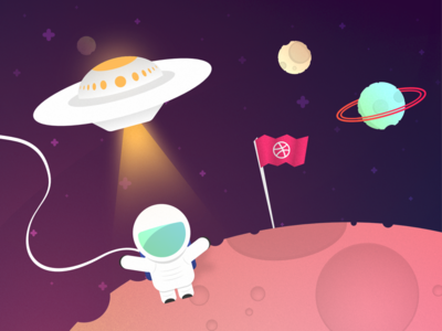Planet Dribbble - Invite Giveaway