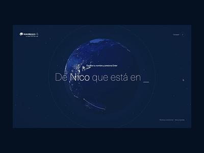 AeroMexico | Personas que son destinos - Website Animation web animation css animations css animation webgl intro campaigns campaign html css html 5 css 3 html design code web ui motion website javascript css animation