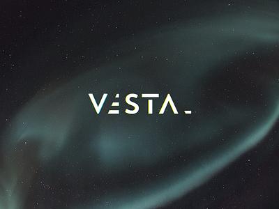 Vestal vestal logo space cosmic