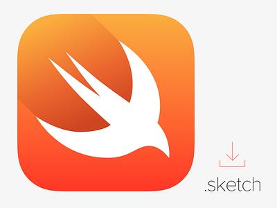 Swift icon apple icon swift yosemite ios mac osx sketch download