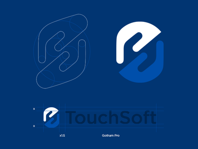 TouchSoft logo styleguide brandbook touchsoft nuance touch soft logo s hands guides