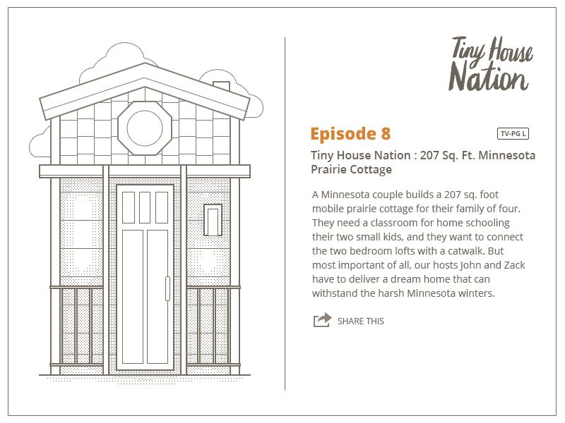Fyi Tv Tiny House Nation Illustration By Maxim Chesky Dribbble