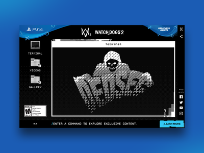 Watch Dogs 2 watch dogs os system linux ipad ui ps4 playstation game dedsec hack wd2