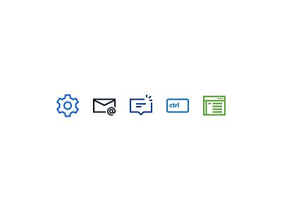 Windows 10 tab icons gmail ctrl notification settings general accounts email icons shortcut tab win10 windows