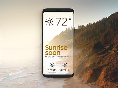 🌅 weather ux ui sun sunrise osx mac iphone ios icon app