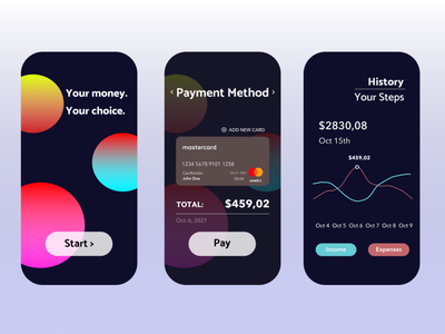Daily UI Challenge 002 (Credit Card Check Out) | Mobile App update figma check out credit card check out colors bank banking credit card ux design app ui illustration mobile mobile app graphic design daily ui dailyui