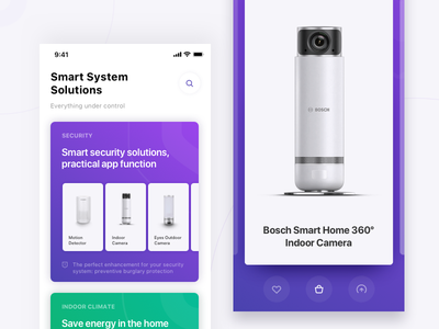 Smart Systems Catalog gallery e-commerce security ios smart home catalog app smart system
