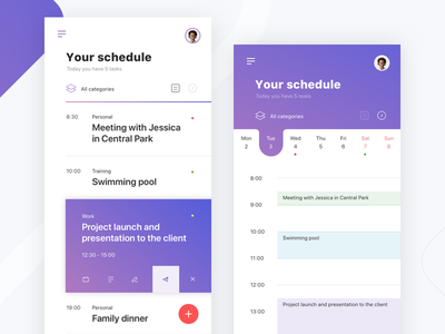 One more Productivity App dashboard schedule list mobile management app to do list productivity