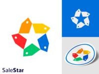 Star+price tag