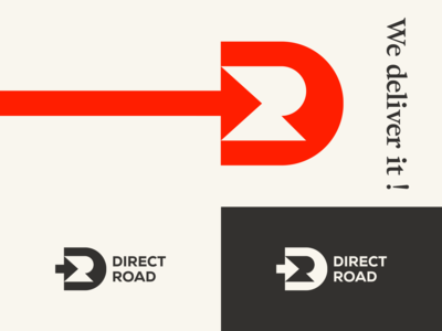 Direct Road - Logo design