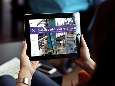 Strukton for iPad • 2013 design ux mobile ipad