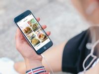 Recipe Finder on iOS
