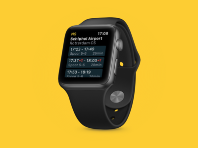 Apple Watch concept for NS